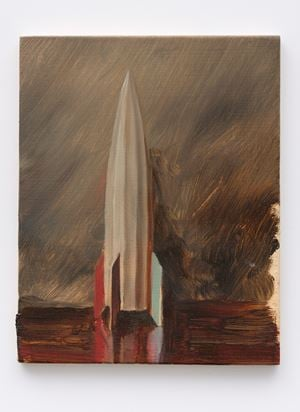 Little Missile by Michaël Borremans contemporary artwork