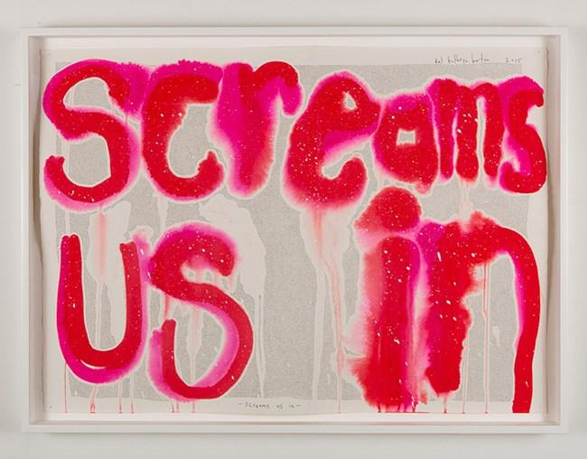 Screams us in by Del Kathryn Barton contemporary artwork