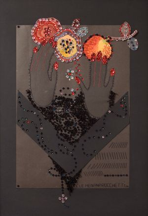 Reaching for the sweet flowers and live fruits of peace and life n. 1 by Clemen Parrocchetti contemporary artwork