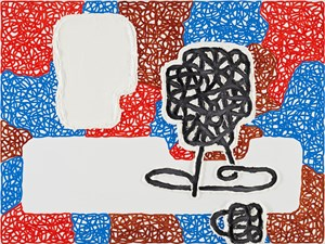 PICTORIAL VACANCY by Jonathan Lasker contemporary artwork painting