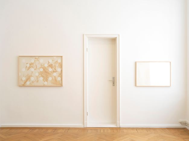 Exhibition view:Kim Yong-Ik,This is not the answer, Barbara Wien, Berlin (27 April–24 August 2019). Courtesy Barbara Wien.