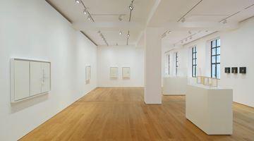 Contemporary art exhibition, Edmund de Waal, cold mountain clay at Gagosian, Hong Kong