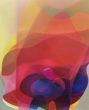 Veiled Spectrum VII by John Young contemporary artwork