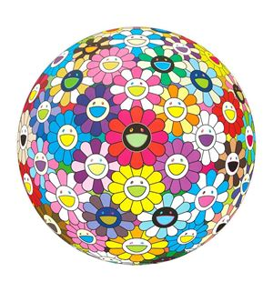 Flowerball Multicolor by Takashi Murakami contemporary artwork