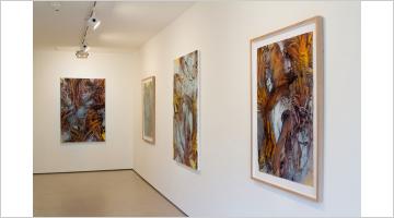 Contemporary art exhibition, Judy Millar, The Bridegroom's Voice at Bartley & Company Art, Wellington, New Zealand