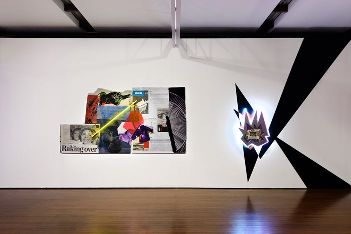 Exhibition view: Brook Andrew,This Year, Roslyn Oxley9 Gallery, Sydney (25 September—4 October 2020). Courtesy Roslyn Oxley9 Gallery. Photo: Luis Power