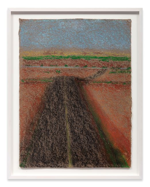 Vertical Landscape with Road by Richard Artschwager contemporary artwork