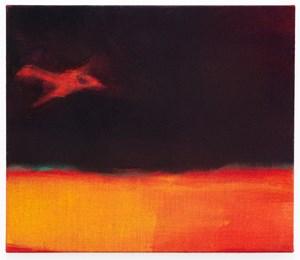 Night Flight by Leiko Ikemura contemporary artwork