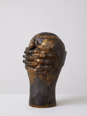 Head[case] 119. I'm done here... Take ten. by Julia Morison contemporary artwork