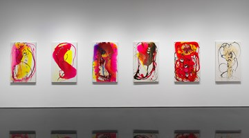 Contemporary art exhibition, Helen Marden, Tivoli at Gagosian Shop, 976 Madison Avenue, New York