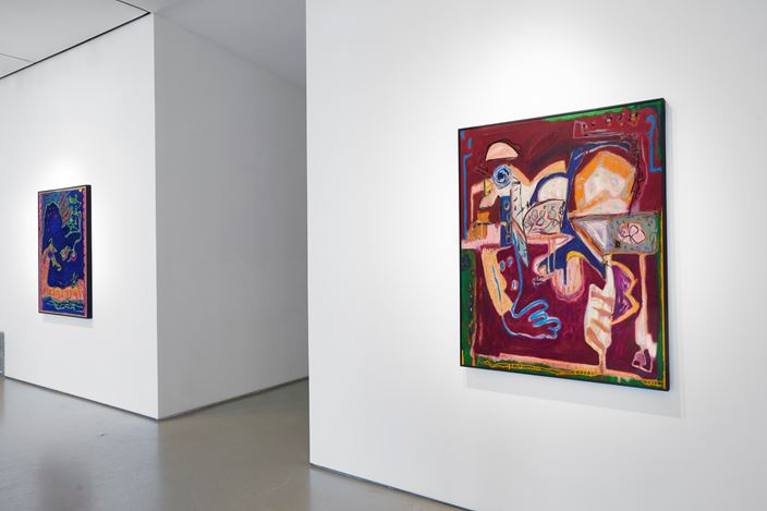 Exhibition view: Sarah Dwyer, Tink, Jane Lombard Gallery, New York (12 September–19 October 2019). Courtesy Jane Lombard Gallery.