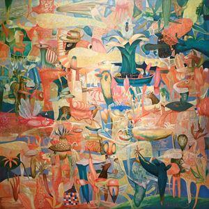Garden by Yarno contemporary artwork