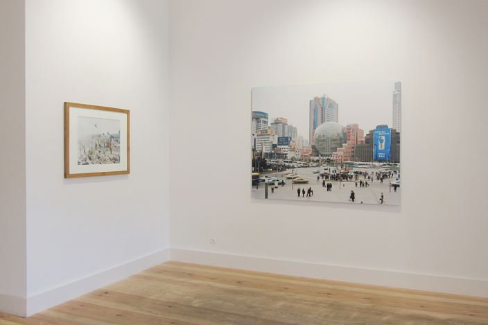 Exhibition view: Peter Bialobrzeski, Early Works – Analogue,Galerie Albrecht, Berlin (21 February–16 May 2020). Courtesy Galerie Albrecht.