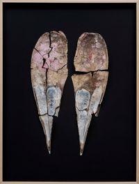 History of a particular nameless creek (Pinna Nobilis) by Elmas Deniz contemporary artwork sculpture
