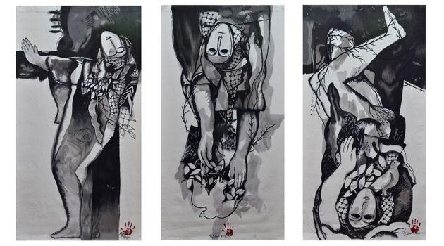 Dia Al-Azzawi contemporary artist