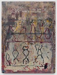 DNA by Marina Rheingantz contemporary artwork painting, works on paper
