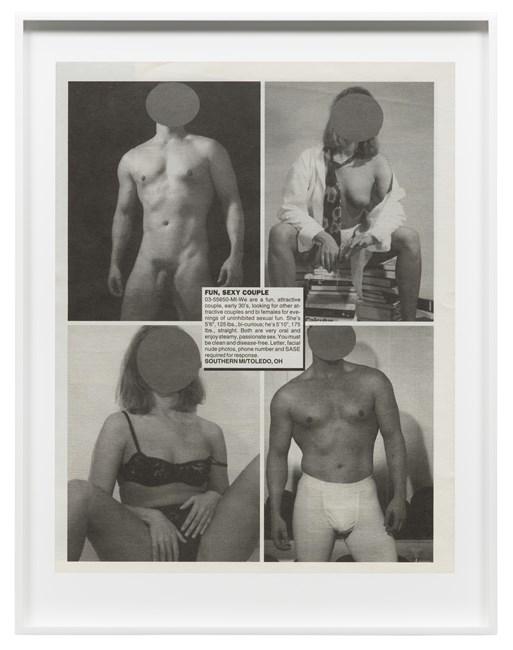 Swingers by Lutz Bacher contemporary artwork
