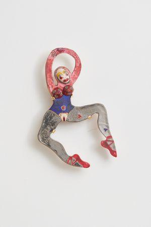 Porcelain Dancer 3 by Rose English contemporary artwork