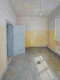 Concentration camp - Room by Lu Liang contemporary artwork painting