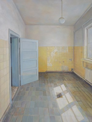 Concentration camp - Room by Lu Liang contemporary artwork