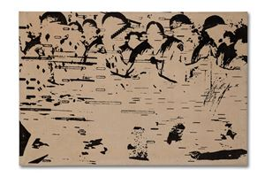 Stop 13 by Peter Kennard contemporary artwork