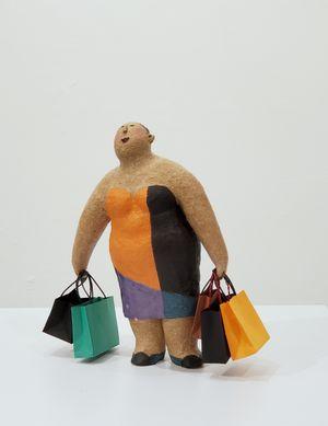 Shopping Spree by Rosanna Li Wei-Han contemporary artwork sculpture