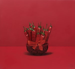 Red Chillies by Jonathan Dalton contemporary artwork
