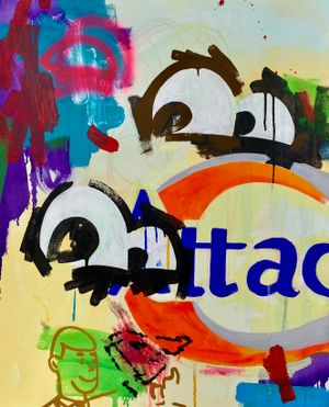One's Eyes  (Attack) by KINJO contemporary artwork