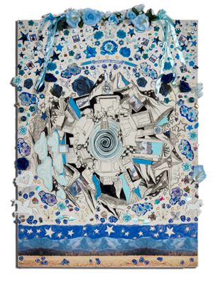 The Next American President (blue) by Gretchen Andrew contemporary artwork
