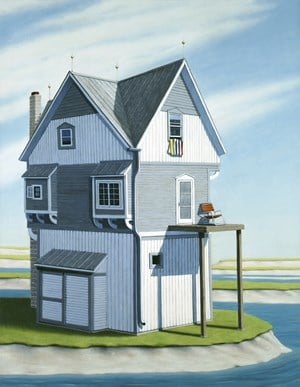 Cookoos Nest by Robin Lowe contemporary artwork