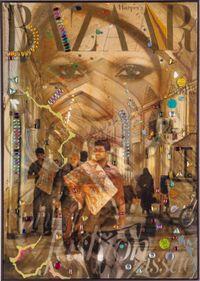La Femme Du Bazar, no. 12 by Farhad Ahrarnia contemporary artwork sculpture, photography, print, mixed media