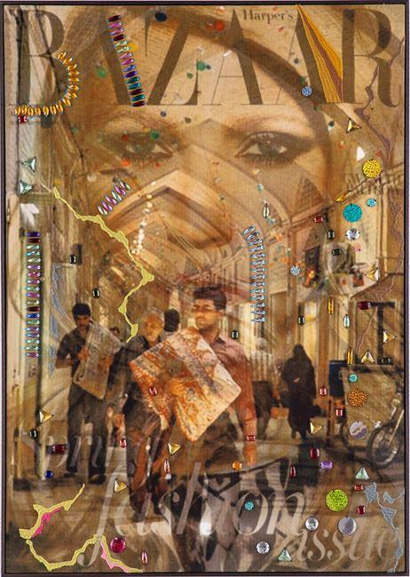La Femme Du Bazar, no. 12 by Farhad Ahrarnia contemporary artwork