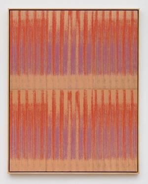 Negative Entropy (Argraf Rapida, Orange, Double) by Mika Tajima contemporary artwork