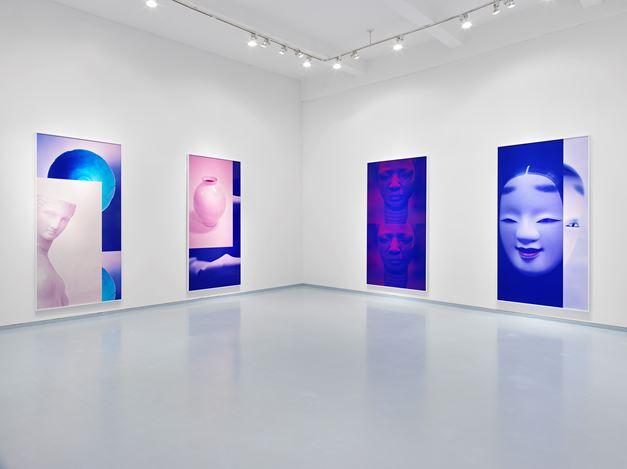 Exhibition view: Sara VanDerBeek,Women & Museums,Metro Pictures, New York (5 September–5 October 2019). Courtesy Metro Pictures, New York.