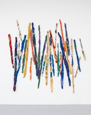 Pigment Sticks by Sheila Hicks contemporary artwork