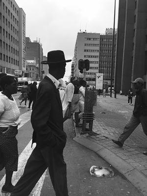 Black Hat by Nonzuzo Gxekwa contemporary artwork