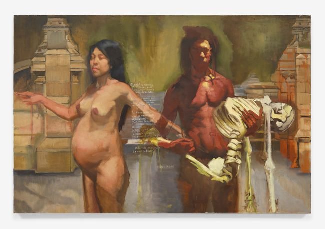 Esqueletos sin Alma by Sylvia Maier contemporary artwork