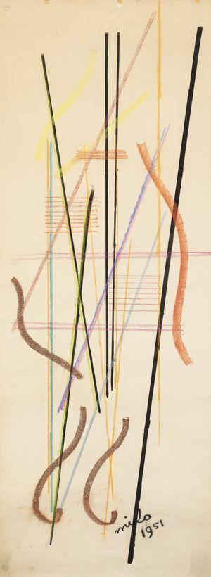 Composition by Jean Milo contemporary artwork