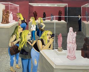 Blondes, circa 2018 by Huang Hai-Hsin contemporary artwork