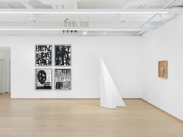 Exhibition view: LeWitt, Nevelson, Pendleton Part II, Pace Gallery, Geneva (16 May–13 July 2018). Courtesy Pace Gallery.