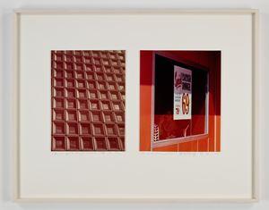 Glass Office Building/Window Highway Restaurant by Dan Graham contemporary artwork