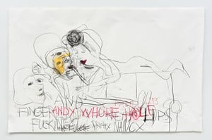 Andy Whore Whole Perfect Lips, Pretty Nancy by Paul McCarthy contemporary artwork
