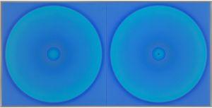 WORK75-BLUE1232 by Minoru Onoda contemporary artwork works on paper
