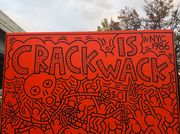 """Keith Haring's Iconic East Harlem Mural, """"Crack Is Wack,"""" Is Back"""