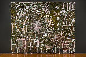 nullius nebula by Fiona Hall contemporary artwork painting