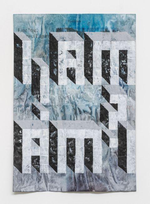 The question by Gabriel Vormstein contemporary artwork