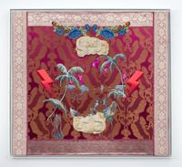 Stories of the sea by Suchitra Mattai contemporary artwork textile