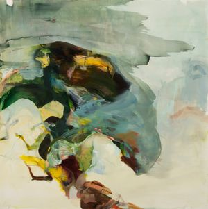between stones by Hollis Heichhemer contemporary artwork