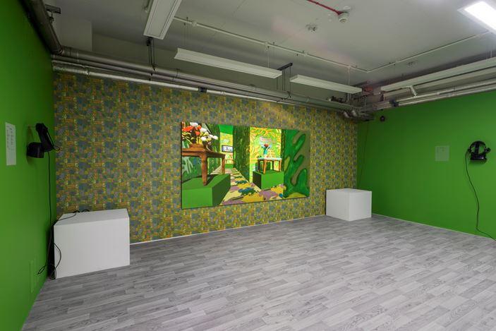 Exhibition view: Claudia Hart, An Imaginary Ruin, Gazelli Art House, London (3 December 2020–17 January 2021). Courtesy Gazelli Art House.