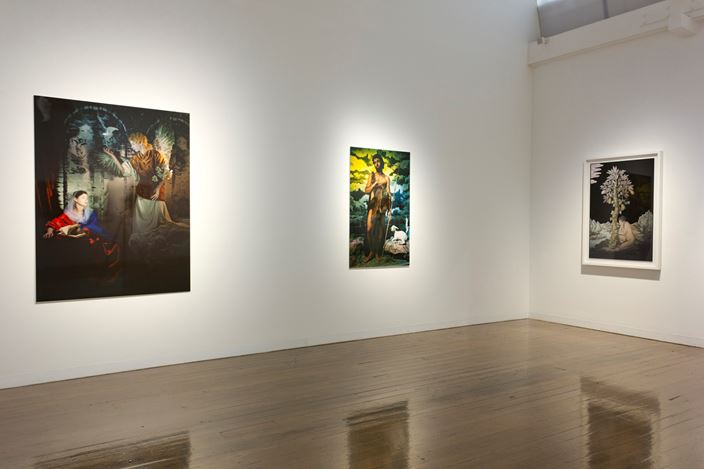 Exhibition view: Rose Farrell & George Parkin, Rose & George, Arc One Gallery (25 June–27 July 2019). Courtesy Arc One Gallery.